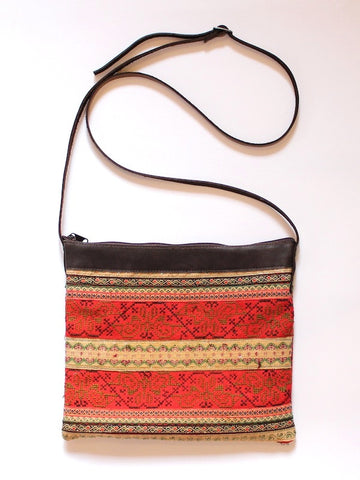 Red Vintage Embroidery Bag