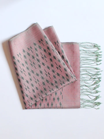 Dusty Rose Beau Scarf