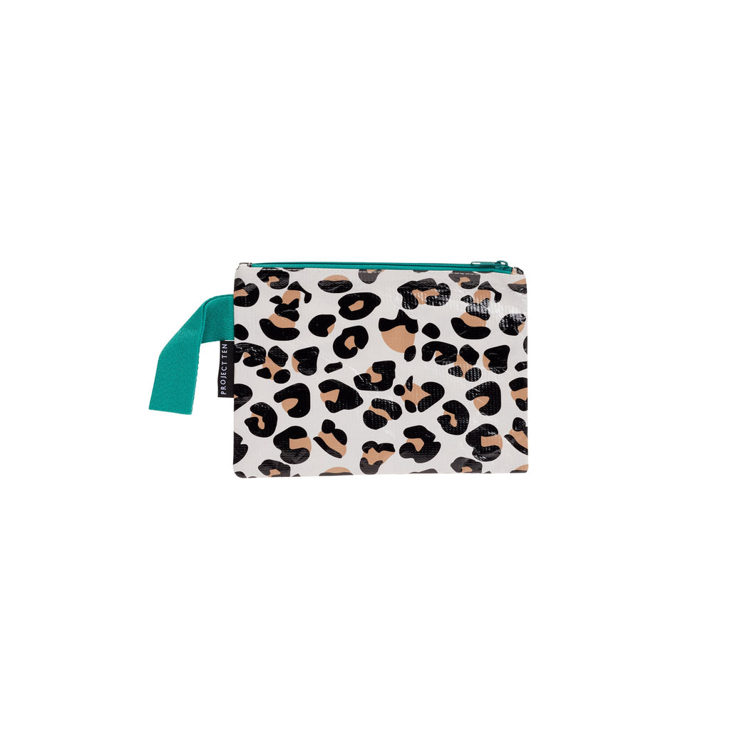 Leopard Mini Zip Pouch