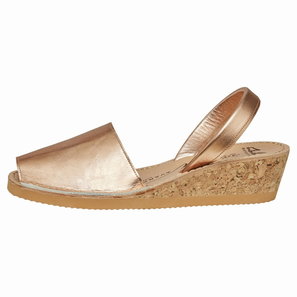 Rose Gold Wedge