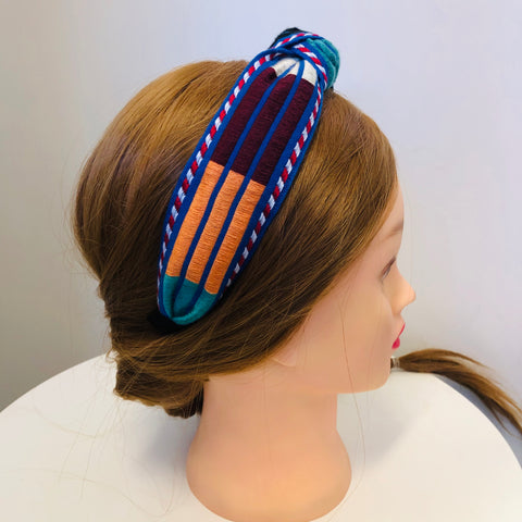 Boho Wide Knot Headband