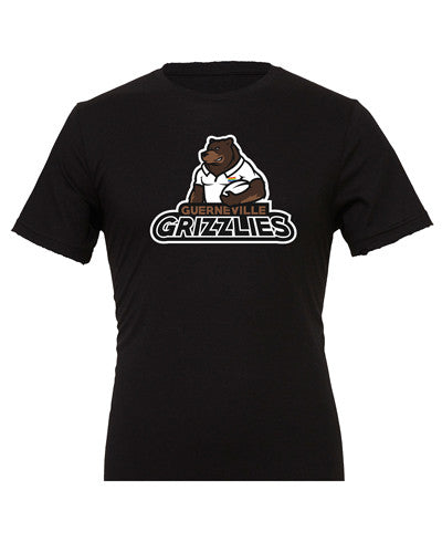 Guerneville Grizzlies Portrait Rugby Shirt - color Black - Rugby Ethos