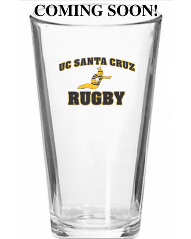 UCSC Slugs Rugby Beverage Glass