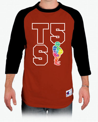 Tight 5 Seven Baseball-Style Rugby Shirt