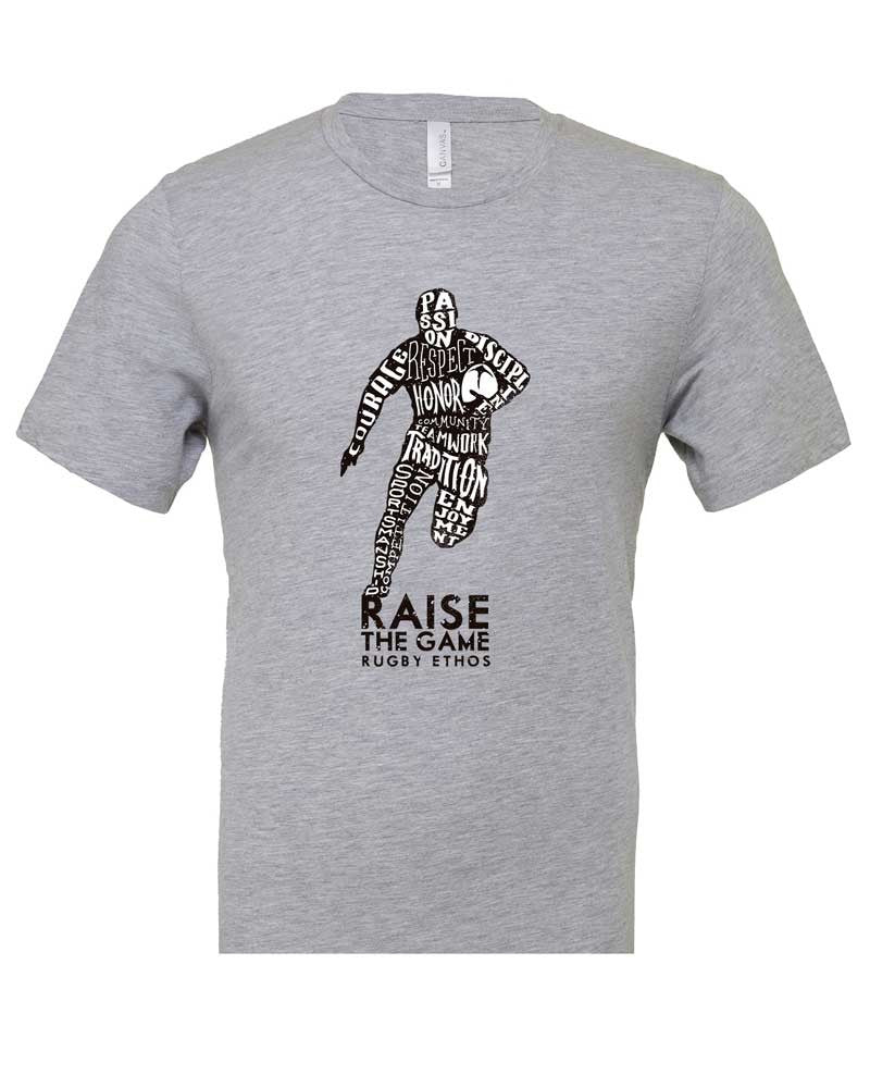 Runner! Rugby Shirt - color Athletic Heather - Rugby Ethos
