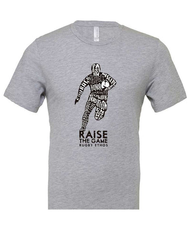 Runner! Rugby T-Shirt - Express your respect for the Game.