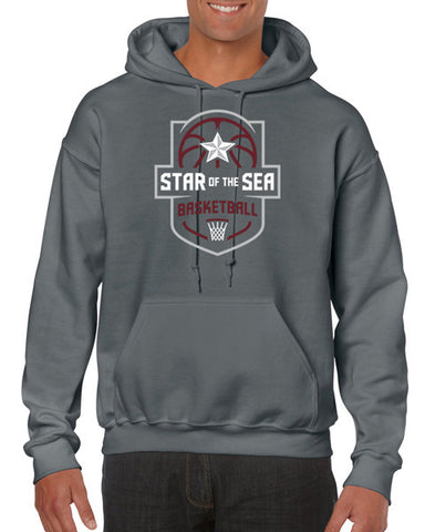Marin City Star of the Sea Basketball Supporters Hoodie