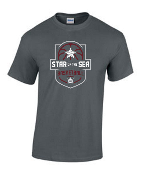Marin City Star of the Sea Basketball Supporters Tee - Rugby Ethos
