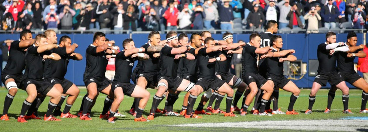 Rugby Ethos New Zealand Haka at Chicago 2014