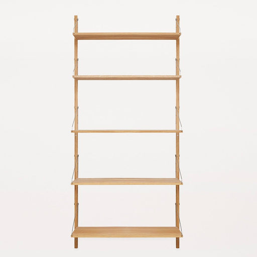 Shelf Library Natural H1852 | Single Section