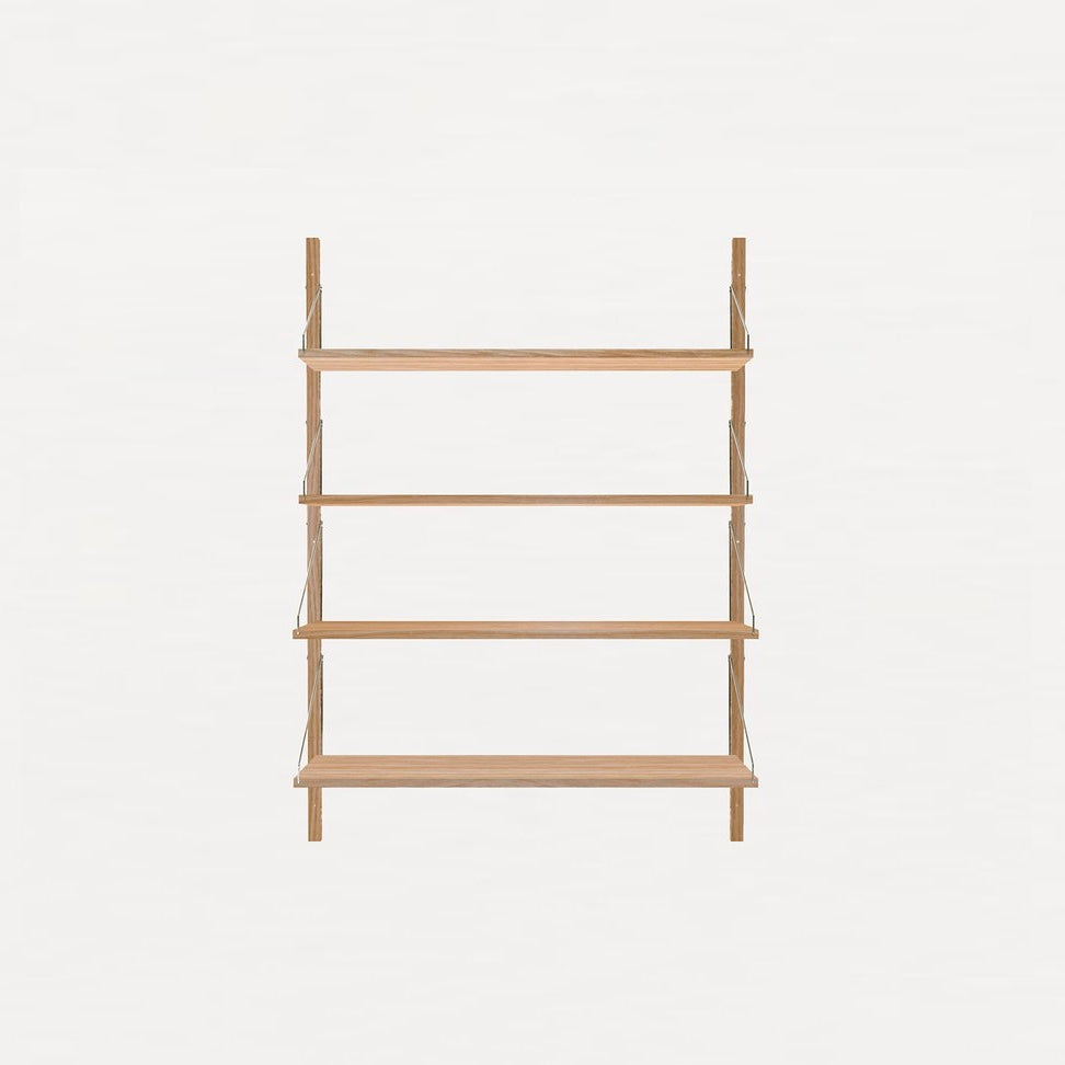 Shelf Library Natural H1148 | Single Section