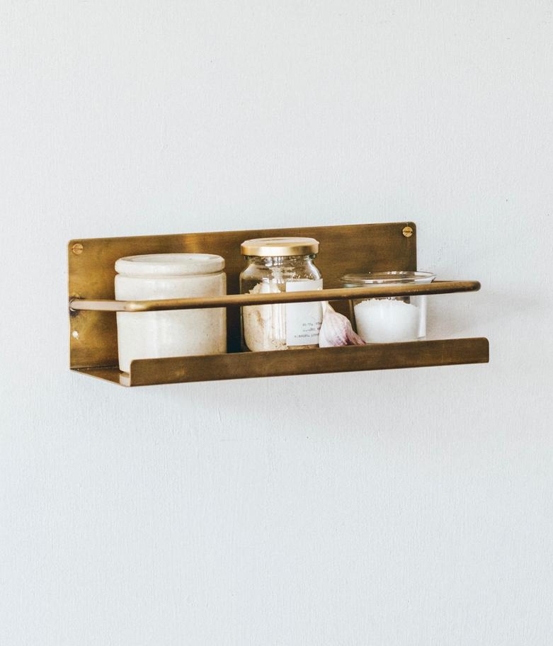 BRASS SHELF - Tea and Kate
