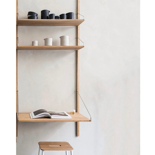 Shelf Library Natural H1852 | Desk Section - Tea and Kate