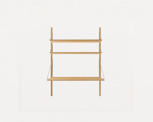 Shelf Library Natural H1148 | Desk Section