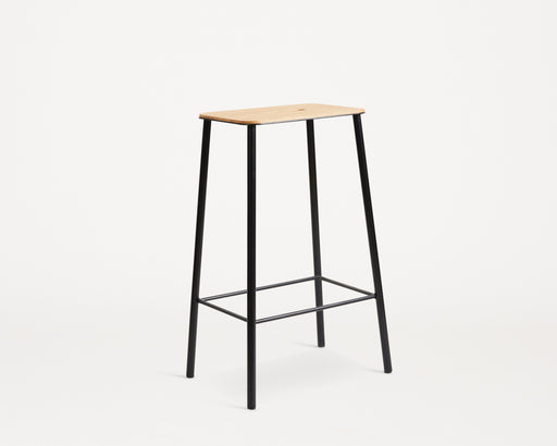 Adam Stool | Oak / Black - Tea and Kate