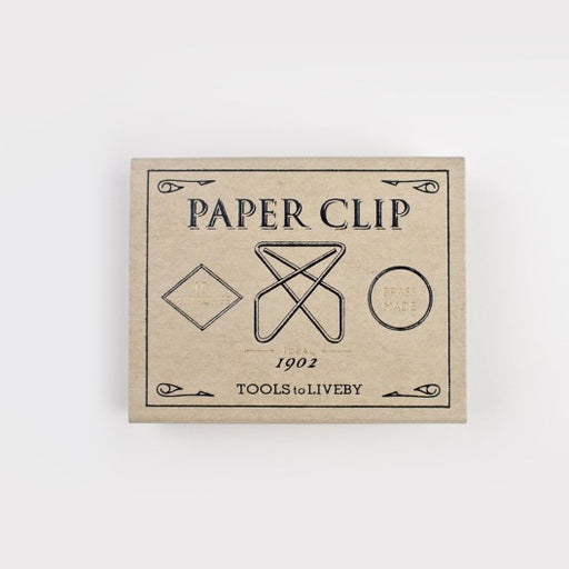 Brass paper clips Ideal - Tea and Kate