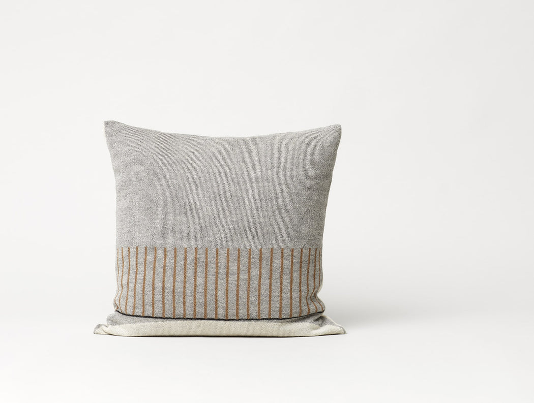 Aymara Cushion, Pattern Grey - Tea and Kate