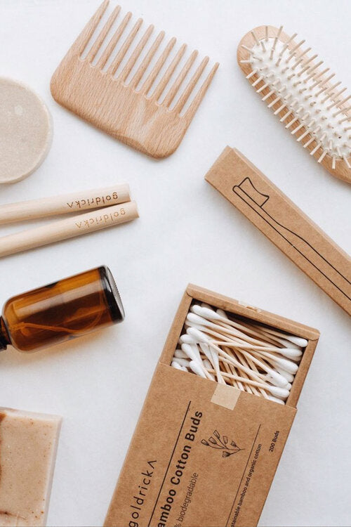 Bamboo and Organic Cotton Buds