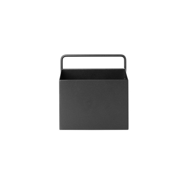 wall box black square