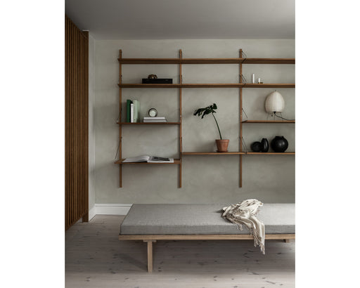 Shelf Library Natural H1852 | Triple Section