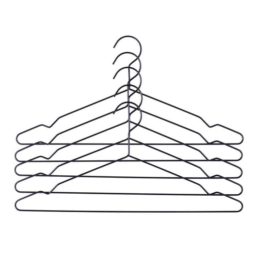 Hay Hang set of 5 hangers - black WAS £9 - Tea and Kate