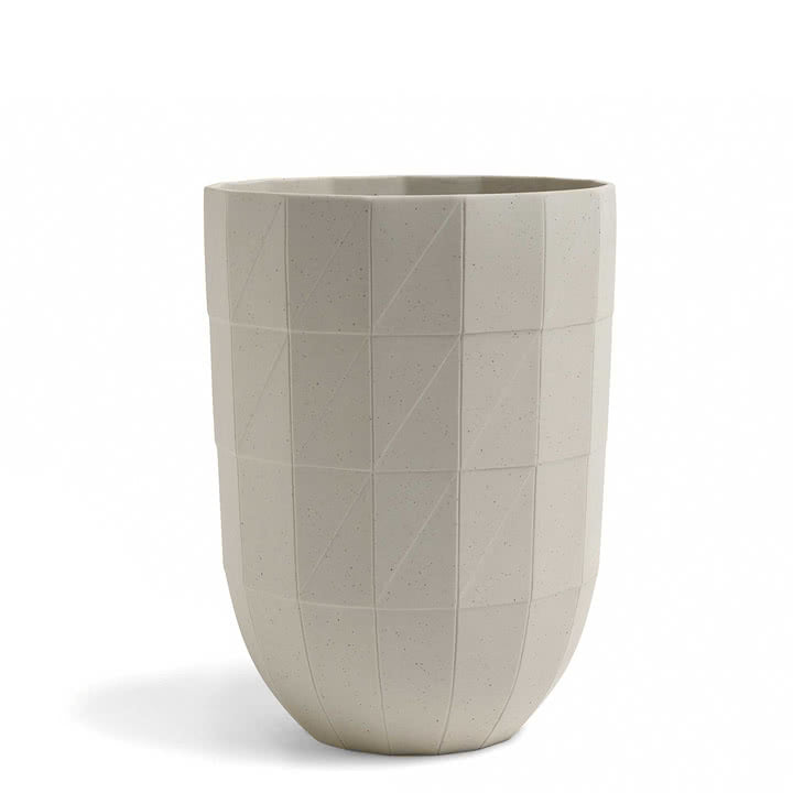 HAY Paper Porcelain Vase - Tea and Kate
