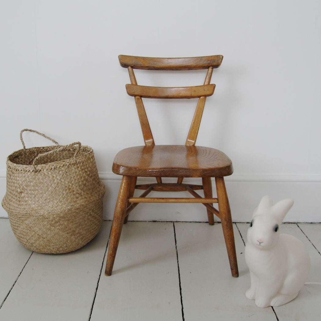 Vintage Ercol childs stacking school chair - Tea and Kate - vintage - 1