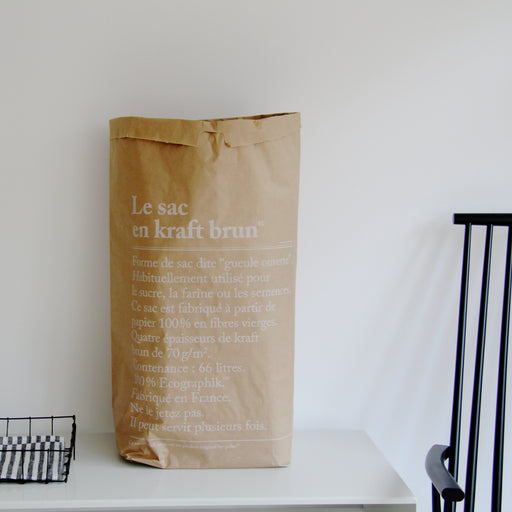 The paper bag/Le Sac en Papier brown - Tea and Kate