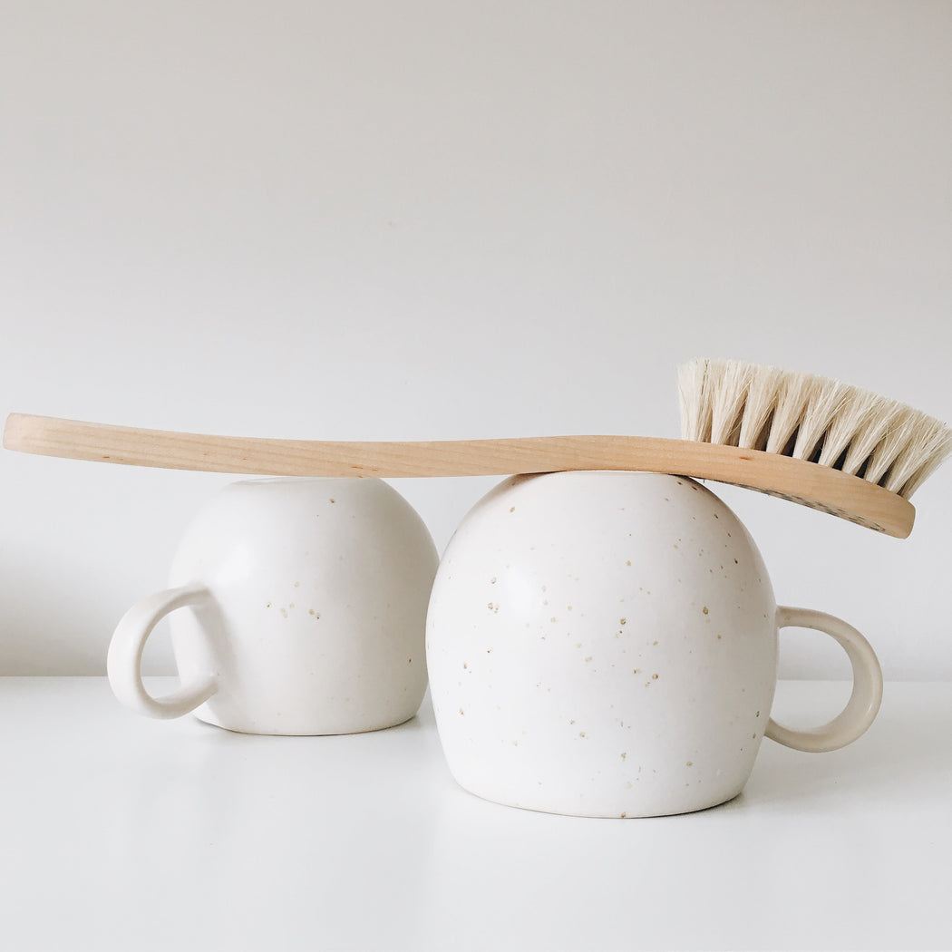 Dish long handled brush was £16.50 - Tea and Kate