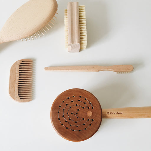 Iris Hantverk Bath Brush Puck - Tea and Kate - Iris Hantverk - 1