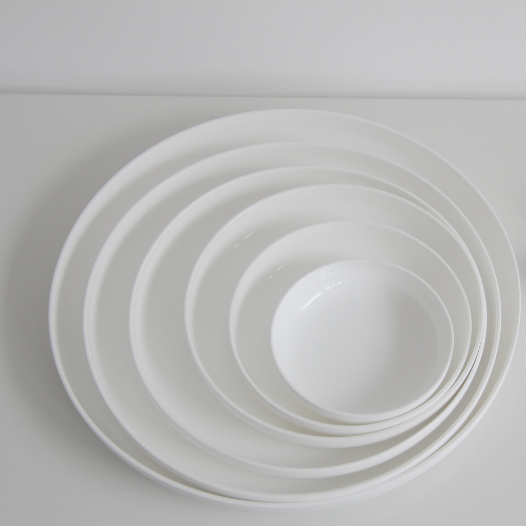 Piet Boon high bone white porcelain plates - Tea and Kate - serax - 3