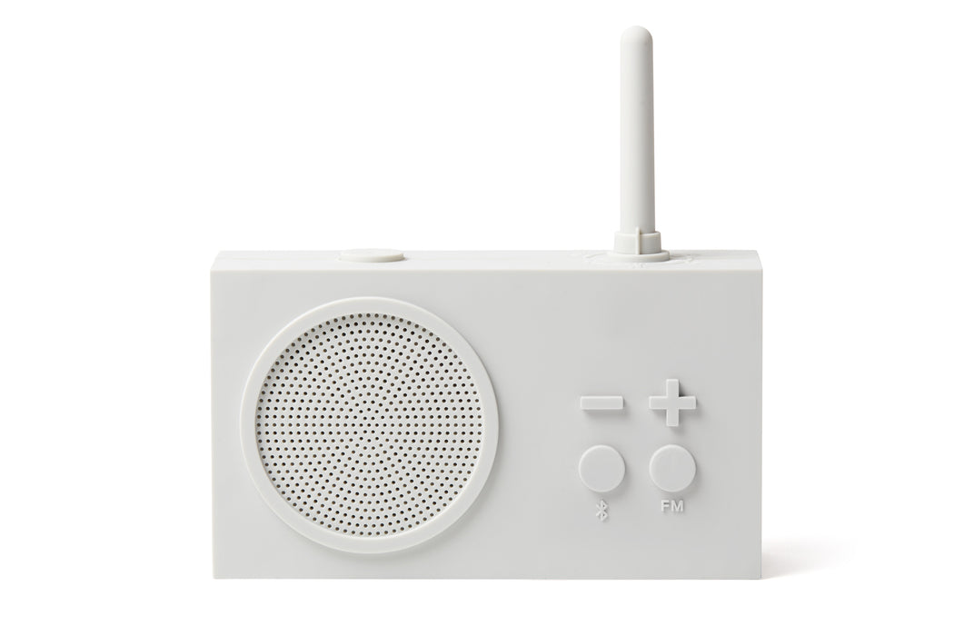 TYKHO 3 FM Radio + Bluetooth Speaker OFF WHITE - Tea and Kate