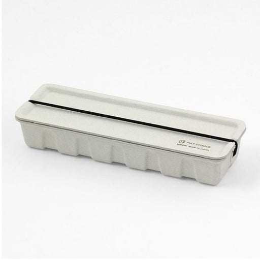 MIDORI PULP PEN CASE GREY - Tea and Kate