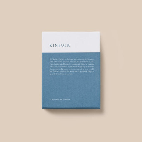 Kinfolk notecard collection The Balance collection was £16 - Tea and Kate