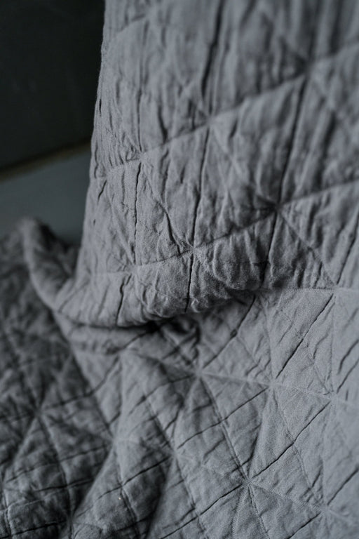 ARLO GREY JACQUARD COTTON
