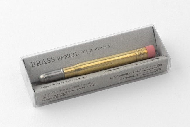 Traveler's Company Brass Pencil - Tea and Kate