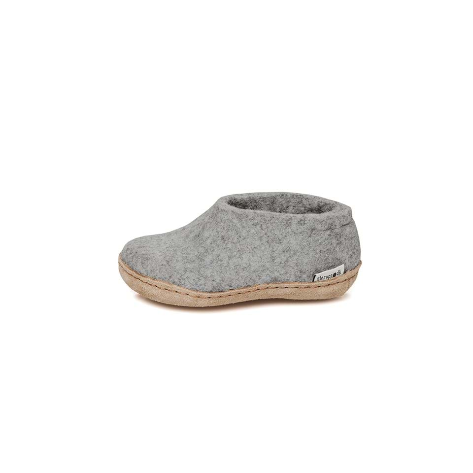 Felt house shoe junior grey was £42 - Tea and Kate