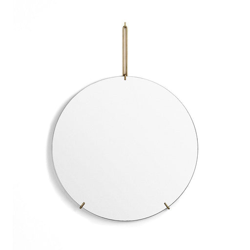 ROUND Wall mirror - BRASS - Tea and Kate