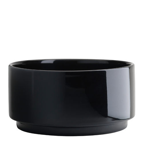 Cafe bowl 12cm black WAS £18 - Tea and Kate