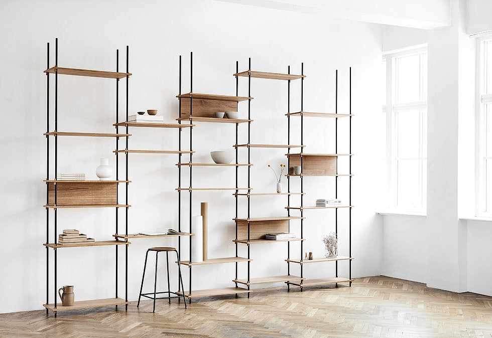 The Freedom shelving system - Tea and Kate