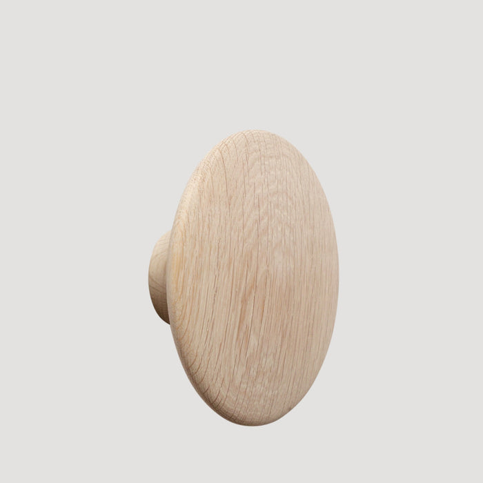 Muuto The Dots Coat Hooks // Large Natural Oak