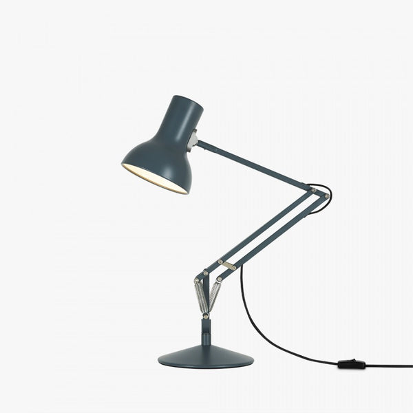 Anglepoise Type 75 mini slate grey desk lamp
