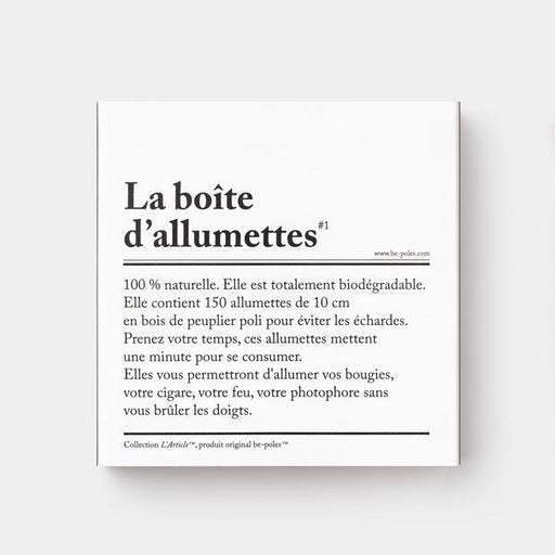 La Boite D'allumettes Long Matches - Tea and Kate