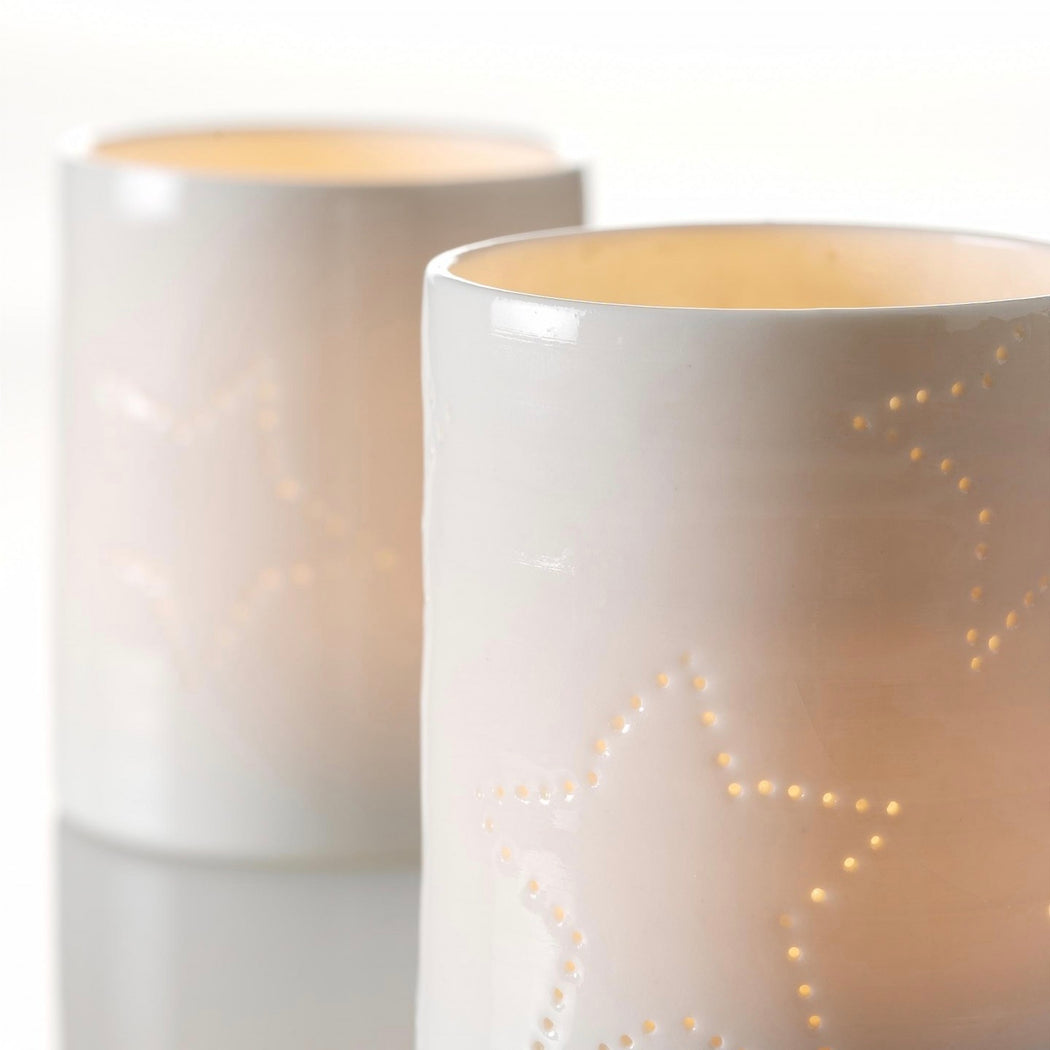 Seam handmade candle cup - Tea and Kate
