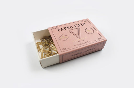 Brass paper clips Weis - Tea and Kate