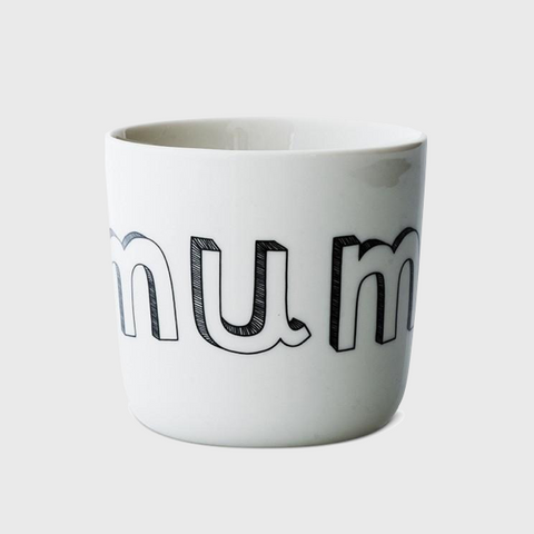 Liebe Porcelain mug mum/dad/me/you/sister/brother was £16