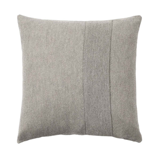 layer cushion pale grey