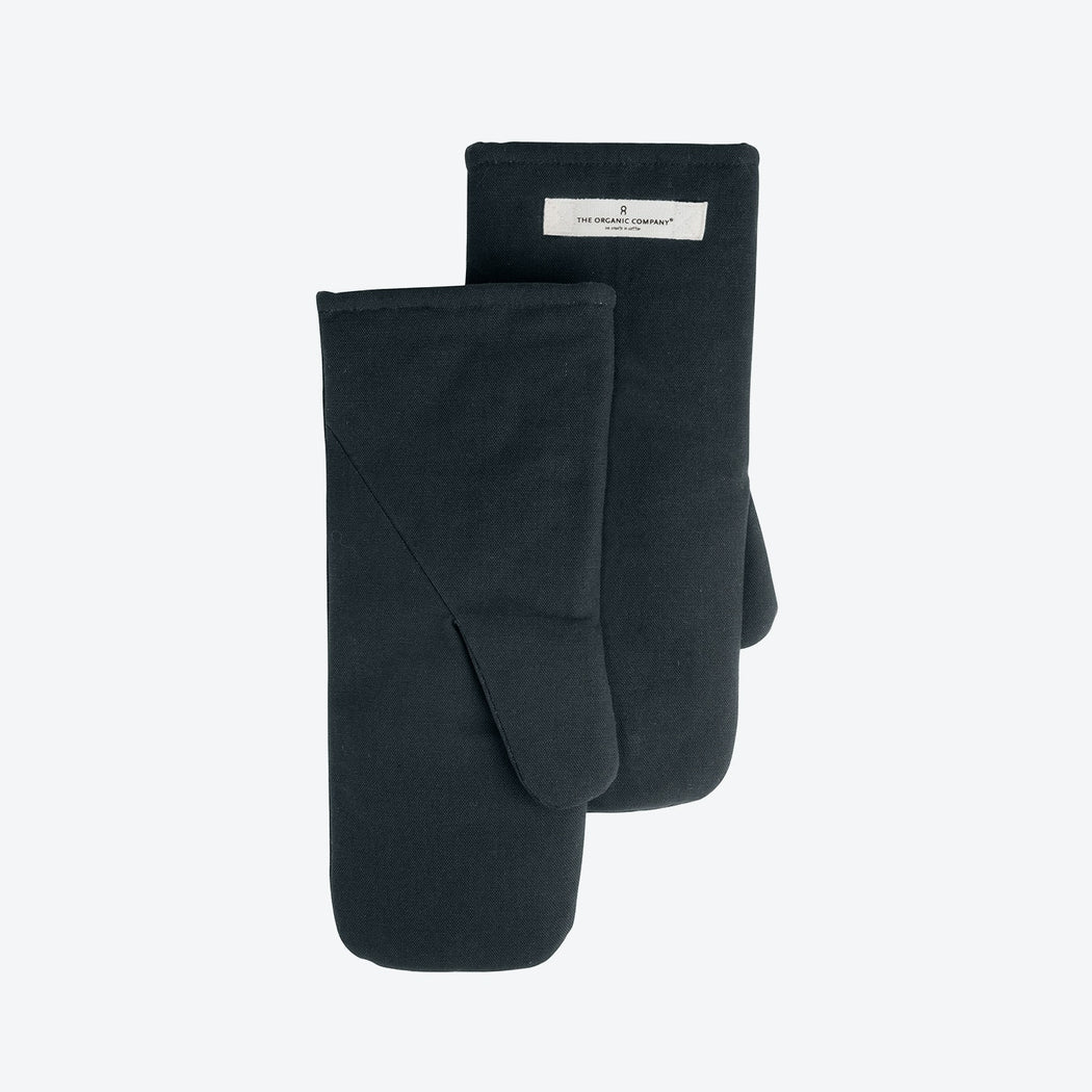 OVEN MITTS DARK GREY SET OF 2 - Tea and Kate
