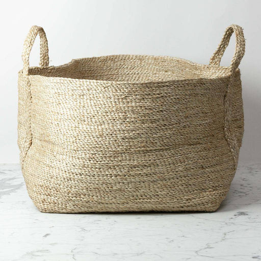 Swedish Large Natural Jute Basket