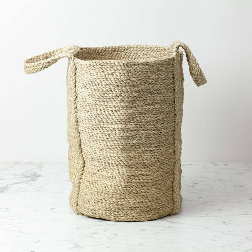 Swedish Round Large natural Jute Basket